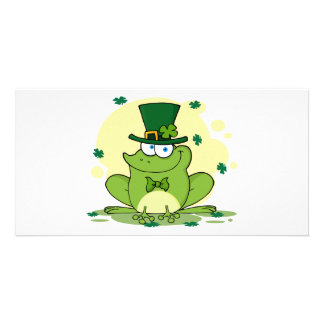 png_4678-Safe-Happy-Irish FROGGY FROG Clovers Photo Cards