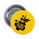 png_69-flowers- negro hawaiano de la flor del hibi pin
