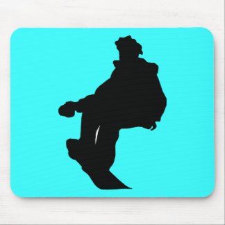 PNG_90_492007 SNOWBOARDER SPORTS FITNESS ACTIVITY MOUSE PAD