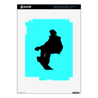 PNG_90_492007 SNOWBOARDER SPORTS FITNESS ACTIVITY iPad 3 DECALS
