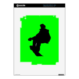 PNG_90_492007 SNOWBOARDER SPORTS FITNESS ACTIVITY iPad 2 SKIN