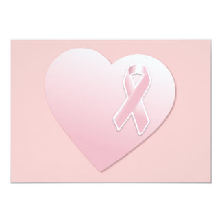 png_heart-53.png BREAST CANCER SURVIVOR 5x7 Paper Invitation Card