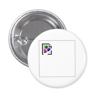 Png quebrado del GIF del JPEG del JPG de la imagen Pin Redondo De 1 Pulgada