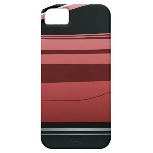 Png rojo del coche deportivo iPhone 5 Case-Mate cárcasas