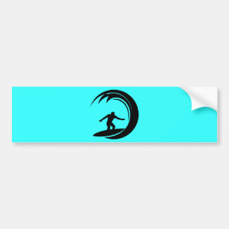 png_vacation06_112607 Surfing Dude Bumper Sticker