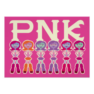 PNK - Estudiantes del susto Póster