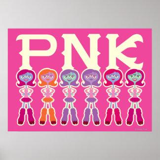 PNK - Estudiantes del susto Posters