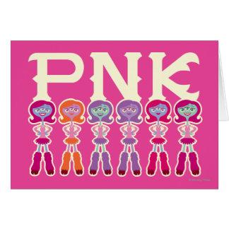 PNK - Estudiantes del susto Tarjeta De Felicitación