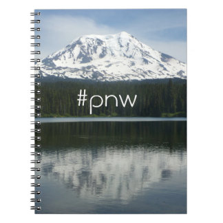 #pnw (hashtag Pacific Northwest) with Mt Adams Notebook