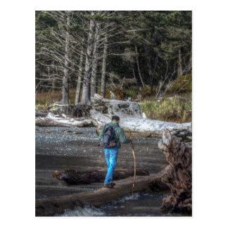 PNW Hiker Postcard