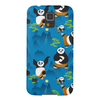 Po and Bao Blue Pattern Case For Galaxy S5