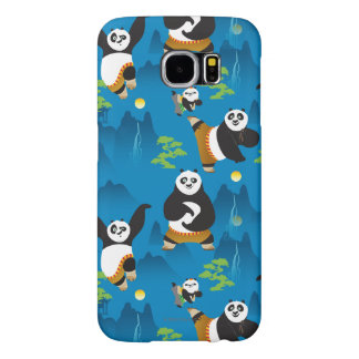 Po and Bao Blue Pattern Samsung Galaxy S6 Case