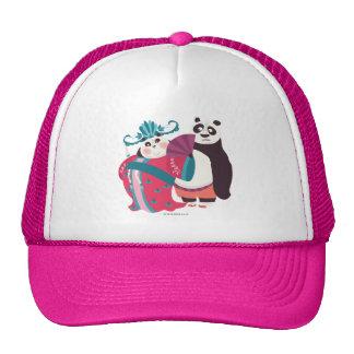 Po and Mei Mei Trucker Hat