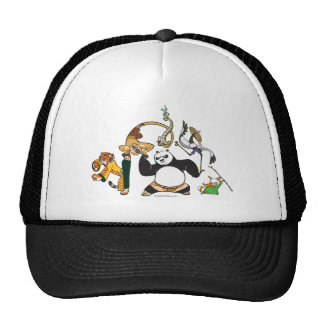 Po and the Furious Five Trucker Hat