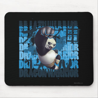 Po Dragon Warrior Mouse Pad