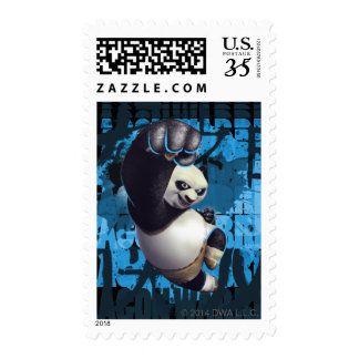 Po Dragon Warrior Postage