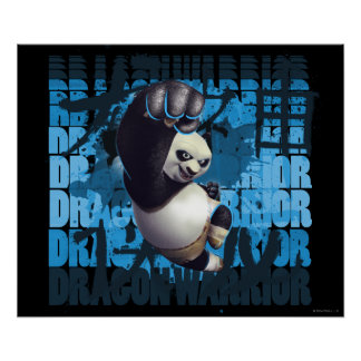 Po Dragon Warrior Posters