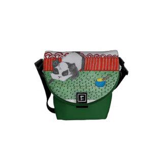 Po, our small panda of China Messenger Bag