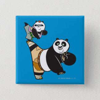 Po Ping and Bao Kicking Button