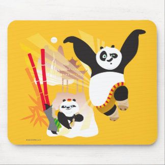 Po Ping and Bao Mouse Pad
