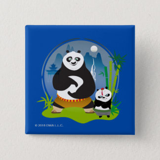 Po Ping and Bao Pose Button