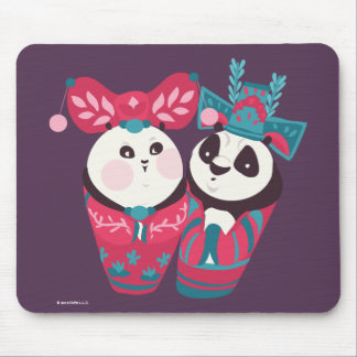 Po Ping and Mei Mei Mouse Pad