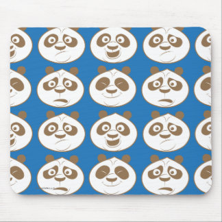 Po Ping Blue Pattern Mouse Pad