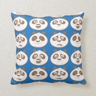 Po Ping Blue Pattern Pillow