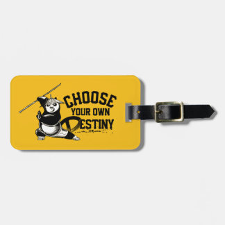 Po Ping - Choose Your Own Destiny Bag Tag