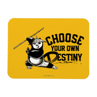 Po Ping - Choose Your Own Destiny Magnet
