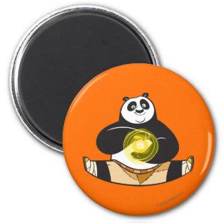 Po Ping Doing the Splits Magnet