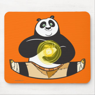 Po Ping Doing the Splits Mouse Pad