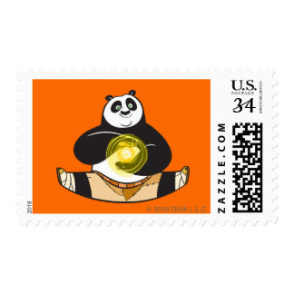 Po Ping Doing the Splits Postage