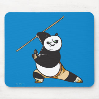 Po Ping Dragon Warrior Mouse Pad