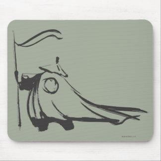 Po Ping - Humble Panda Mouse Pad