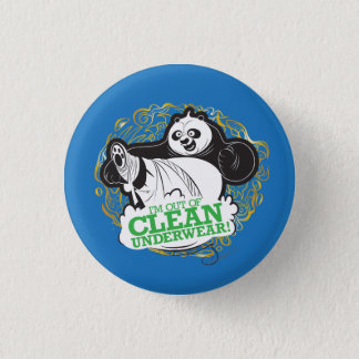 Po Ping - I'm Clean out of Underwear Pinback Button