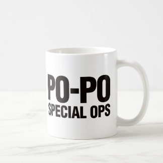 Po-Po Special Ops Coffee Mugs