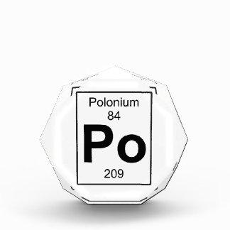 Po - Polonium Award