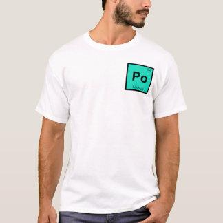 Po - Polonium Chemistry Periodic Table Symbol T-Shirt