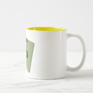 Po Polonium Two-Tone Coffee Mug