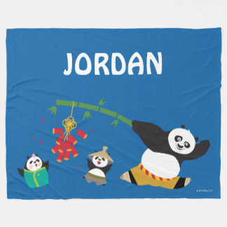 Po que juega con las pandas manta polar
