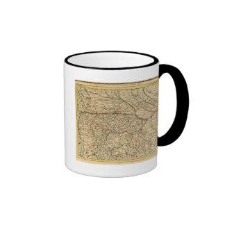 Po River Valley in Italy Ringer Coffee Mug