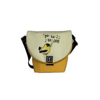 Po-ta-to-chip! Courier Bag