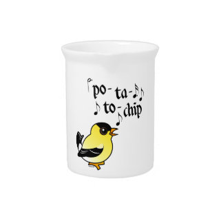 Po-ta-to-chip! Drink Pitcher