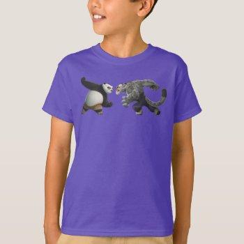 Po Vs Tai Lung T-shirt by kungfupanda at Zazzle