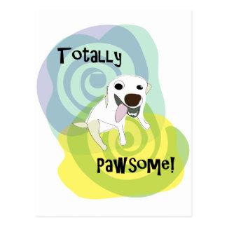 POA_TotallyPawsome_2swirls_tshirt.png Postcards