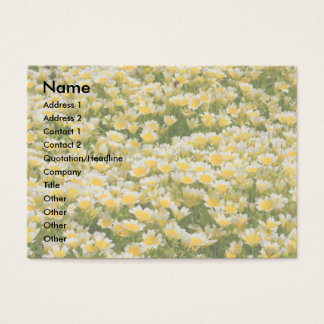 Poached Egg Plant business Card