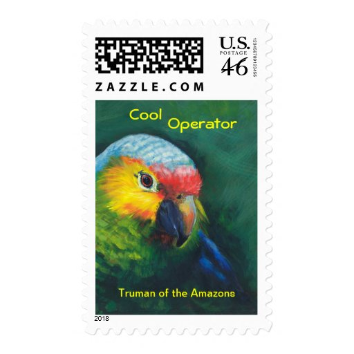 Poatage ,stamps,parrot,tropical,island,beach