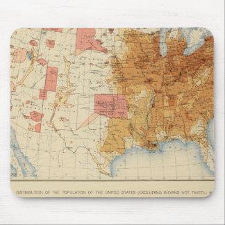 Población 5 1870, 1880 mouse pads