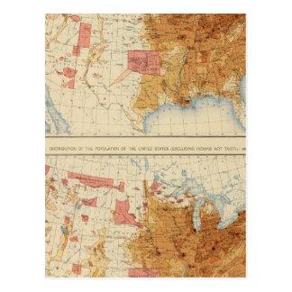 Población 5 1870, 1880 tarjetas postales
